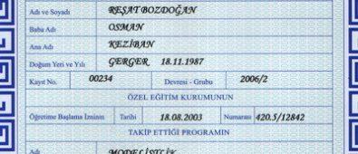 Modelistlik sertifikası