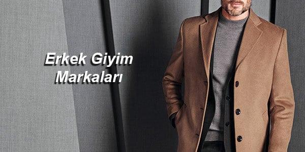 Erkek giyim markaları