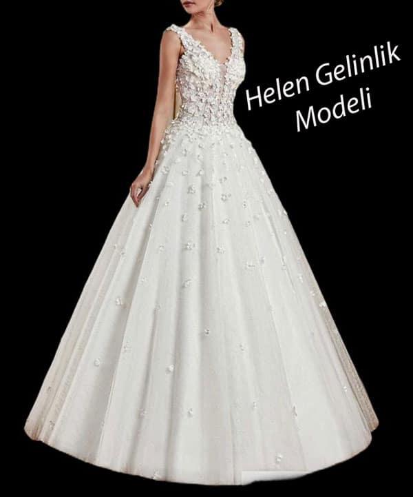 Helen Gelinlik Modeli
