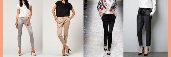 Saten Pantolon Modelleri