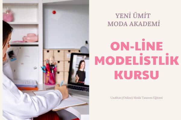 Uzaktan online moda eğitimi